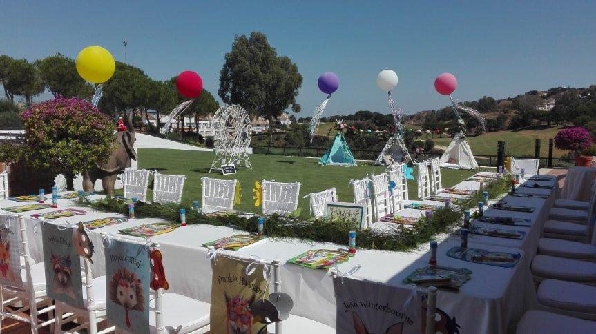 Celebración infantil La Cala Resort