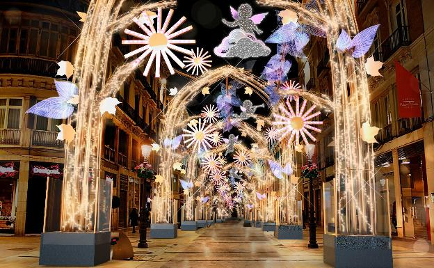 Luces de Navidad 2019 Calle Larios.