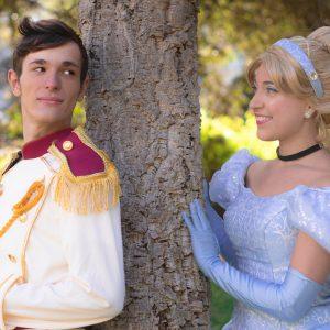 La Cenicienta y Príncipe Azul.