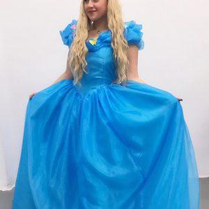 Animación de princesa para fiestas infantiles con Koky Animaciones.