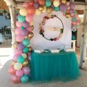 Arco de Globos para cumpleaños - Garland Fantasía