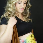 Belly Painting embarazadas en Málaga
