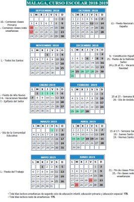 Calendario Academico Uclm 2020 18.Calendario Laboral 2020 Malaga