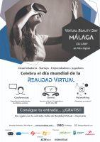 Cartel Día Mundial de Realidad Virtual