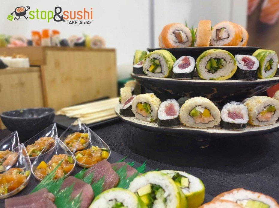 Catering de Sushi para comuniones