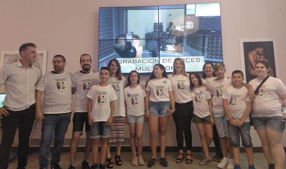 Celebrando.es junto a los alumnos participantes del proyecto