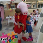 Chispi Puzzle Personaje Pepa Pig