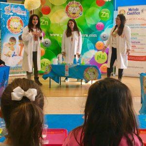 Ciencia Divertida talleres científicos de cumpleaños