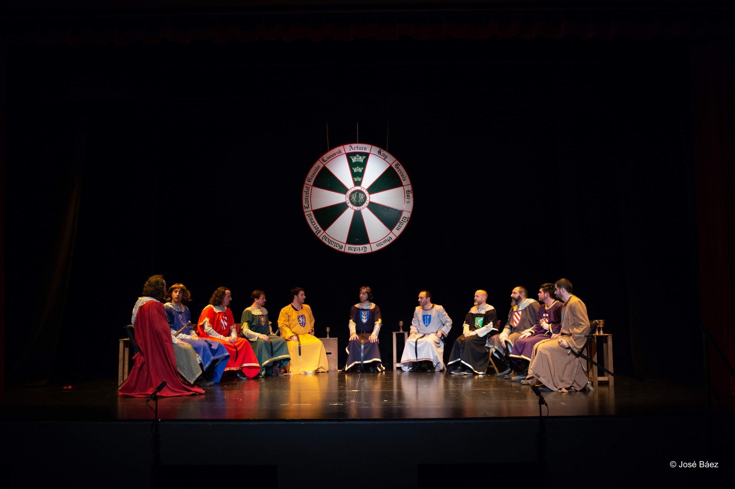 Comediantes Malagueños Excalibur, el destino de un rey