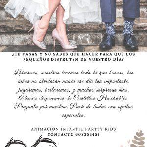 Cuidadores de niños para bodas en Málaga.