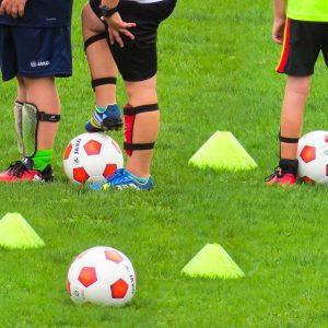 Cumpleaños de fútbol con Vals Sport.