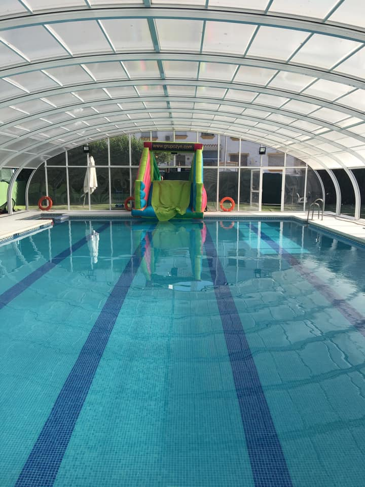 Piscina interior Vals Sport Churriana.