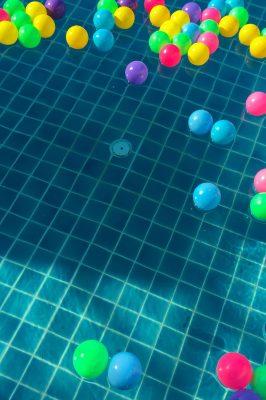 Cumpleaños infantil en la piscina