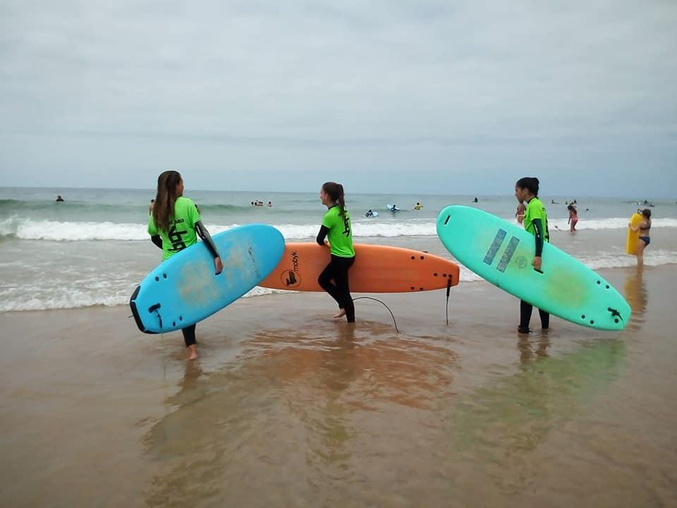 Cumpleaños náutico con Pádel Surf con Andaluscamp