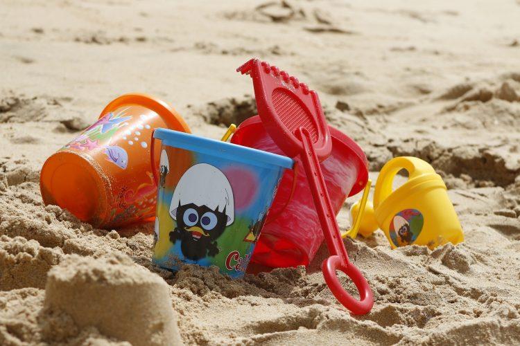 Día de playa para los niños