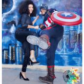 Capitán américa, Superhéroe del Escape Room de Educreativo