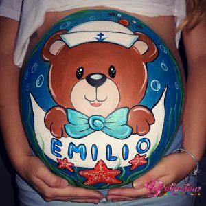 Belly Painting de Brillantina Animaciones.