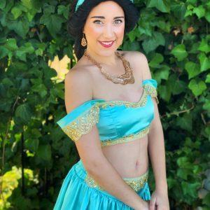 Jasmine, Aladdin.