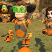 Juego de realidad virtual en equipo para fiestas de cumpleaños.