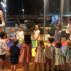 Juegos de animación infantil en comuniones de Málaga.