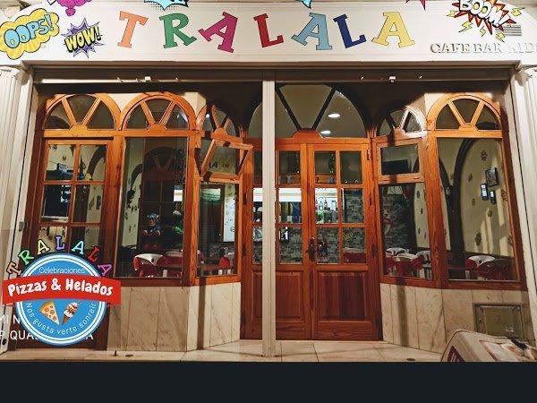 Local para fiestas en Málaga Tralala Pizzas y Helados