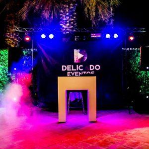 Equipo de música y animación musical Delicado Eventos.