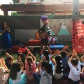 Marionetas y Cantajuegos con Mariquita Animaciones