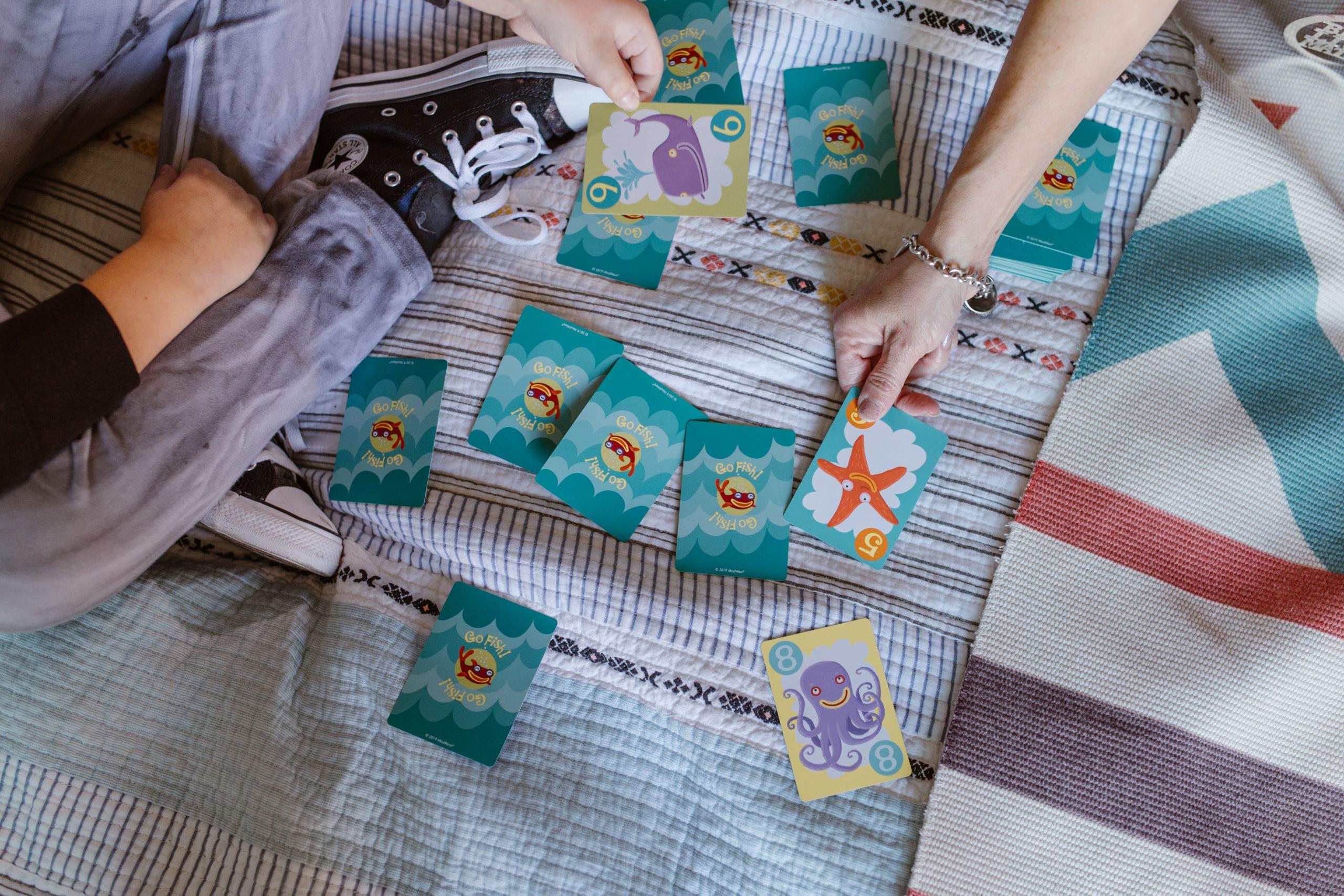 Juegos de cartas infantiles