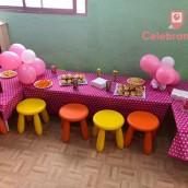 Mesa de niños en el local de Melliz Park