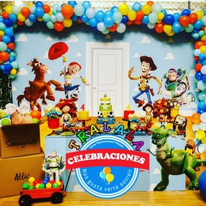 Mesa dulce Toy Story.