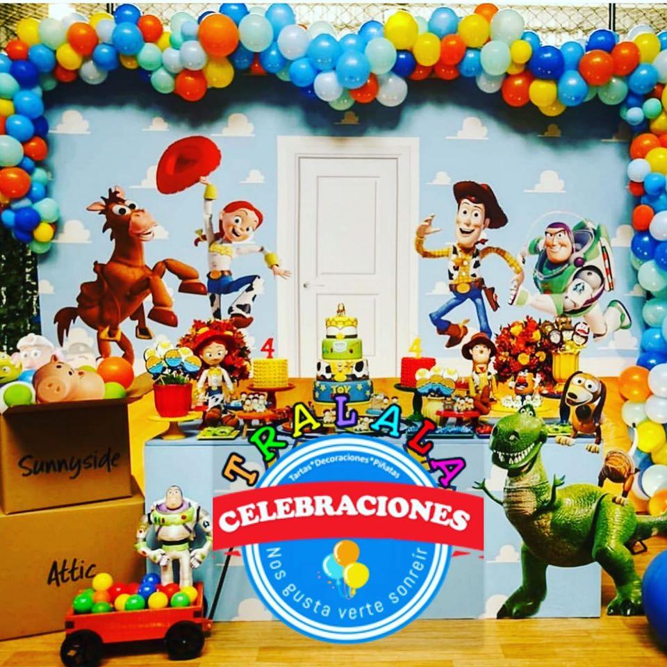 Mesa dulce Toy Story para comunión