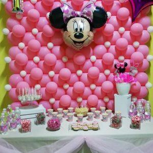 Mesa dulce Minnie Mouse El Teatro de las Sonrisas.