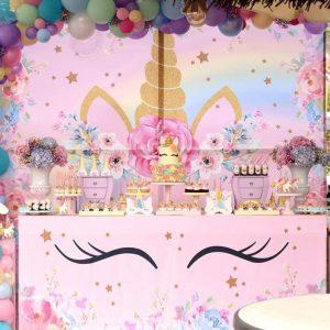 Mesa dulce para fiesta de cumpleaños en Málaga.