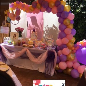 Mesa dulce unicornio.