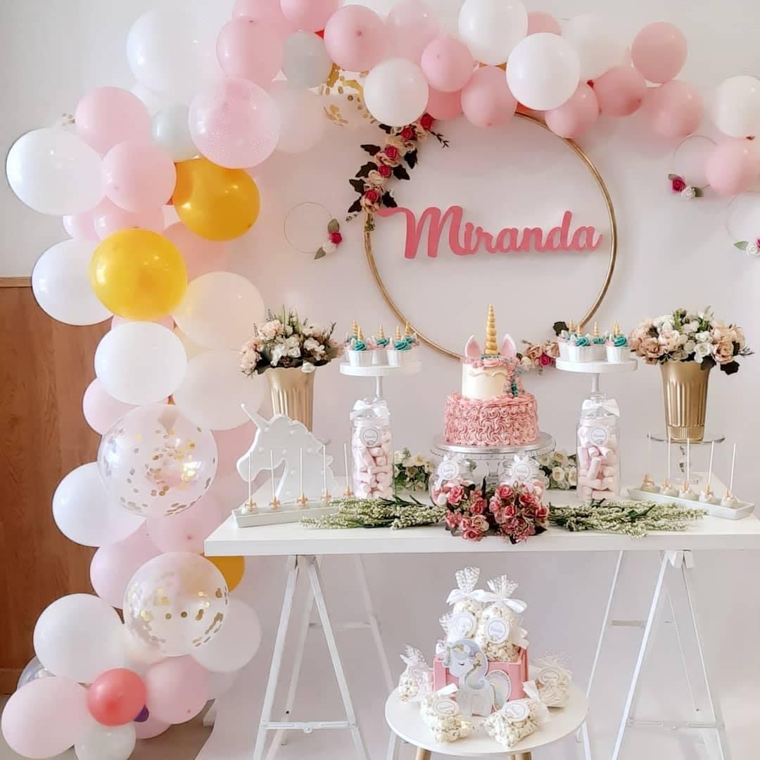 Mesa dulce para fiesta infantil en Málaga