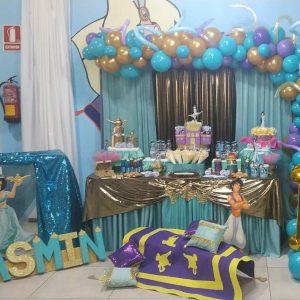 Mesa dulce de Aladdin
