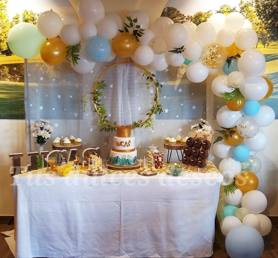 Mesas dulces para comunión en Málaga