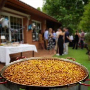 Paella gigante para fiestas