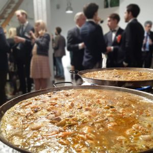 Paella gigante para eventos