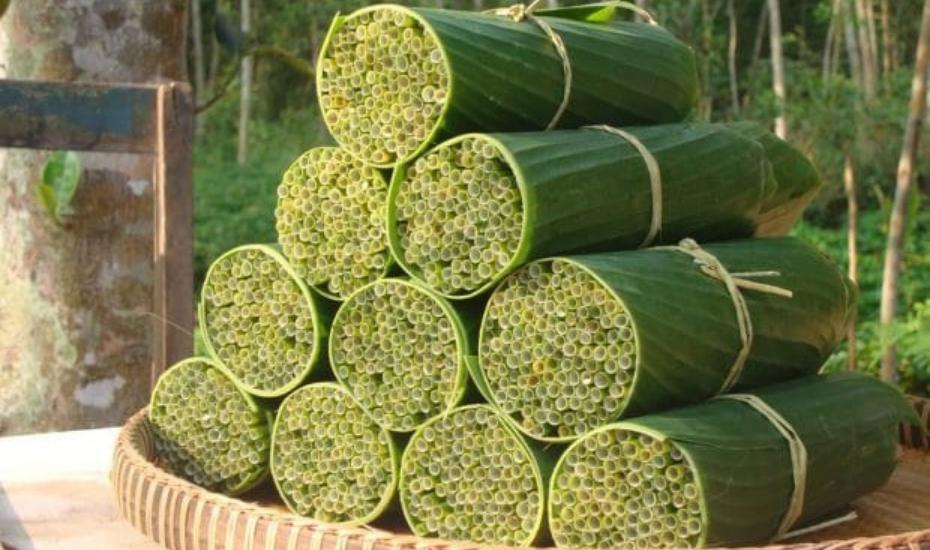 Pajitas biodegradables