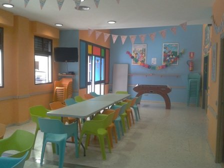 Parque infantil para niños.