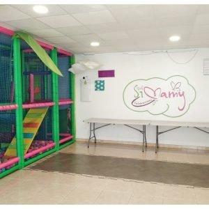 Parque infantil y local Simamy
