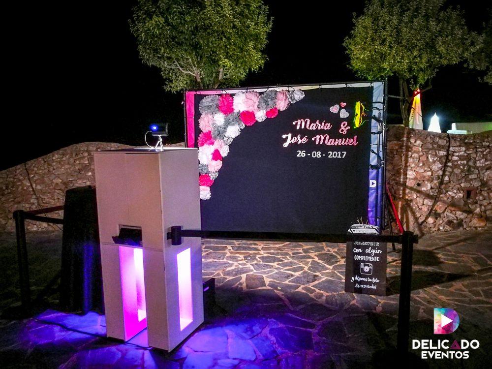 Photocall Delicado Eventos para cumpleaños o comuniones