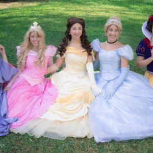Princesas Disney Málaga.