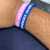 Pulseras solidarias - Asociación Superhéroes