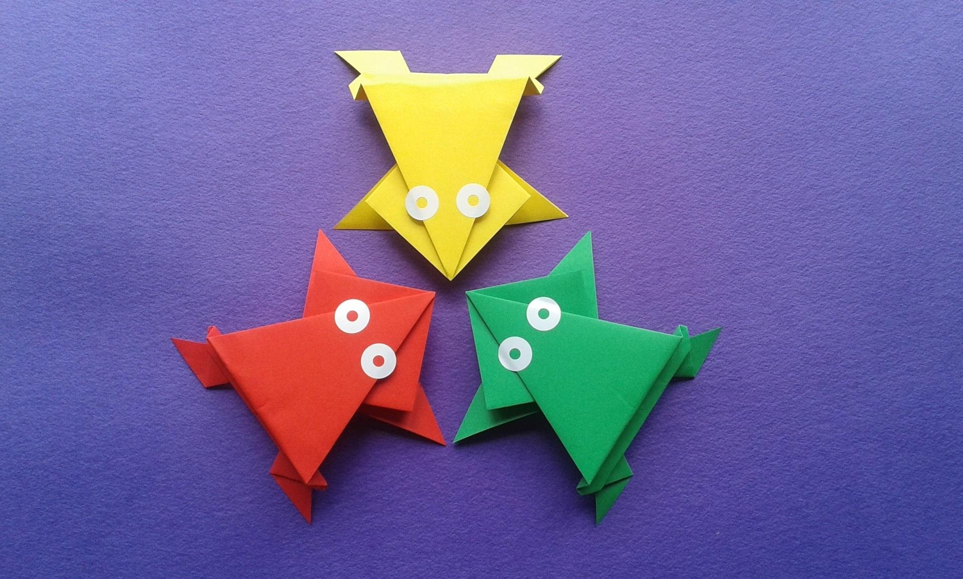 Realiza origami para desarrollar la creatividad.
