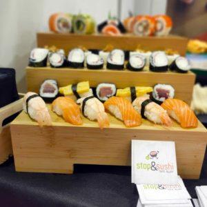 Sushi en fiestas de cumpleaños