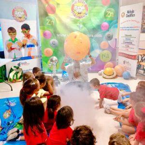 Taller de ciencia actividades extraescolares, fiestas infantiles, eventos institucionales Ciencia Divertida