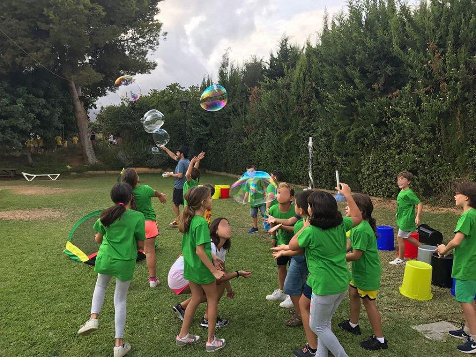Taller de pompas de jabón en Málaga