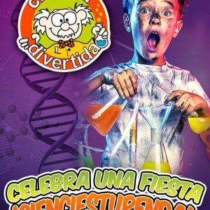Talleres científicos para niños en Málaga para fiestas de cumpleaños